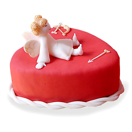 Cupid Love Cake 4kg Eggless