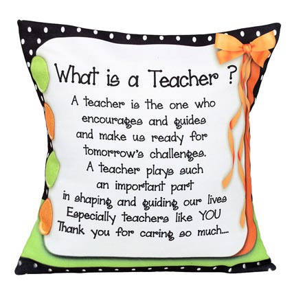 Cushion For Teacher