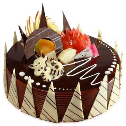 Cute Chocolate Cake Half kg