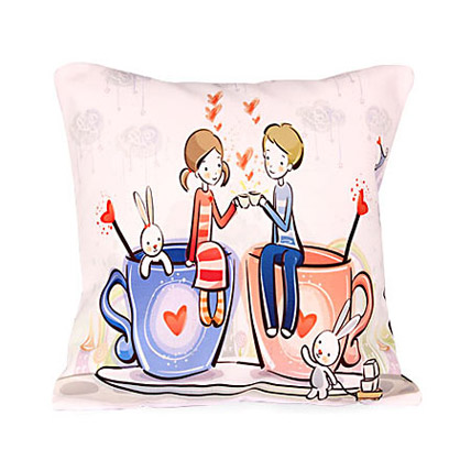 Cute Love Cushion