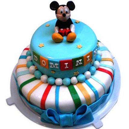 Cute Mickey Cake 4kg Eggless