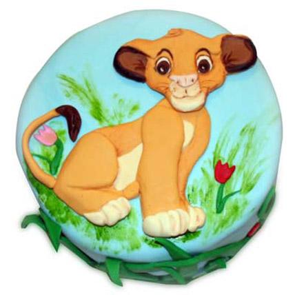 Cute Simba cake 4kg