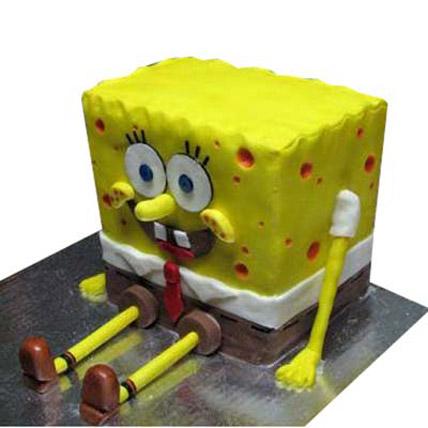 Cute Spongebob Cake 3kg