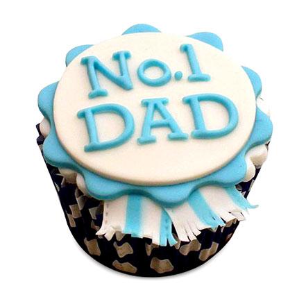 Dad Designer Cupcakes 12
