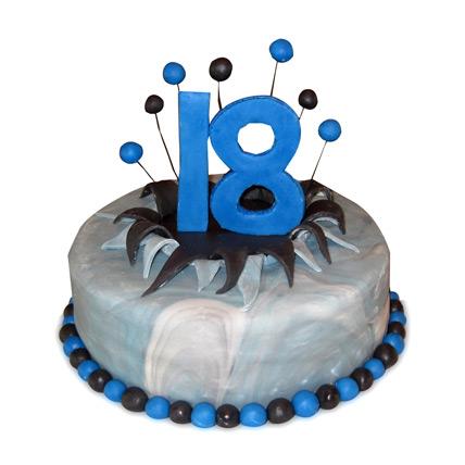 Dazzling Birthday Cake 4kg