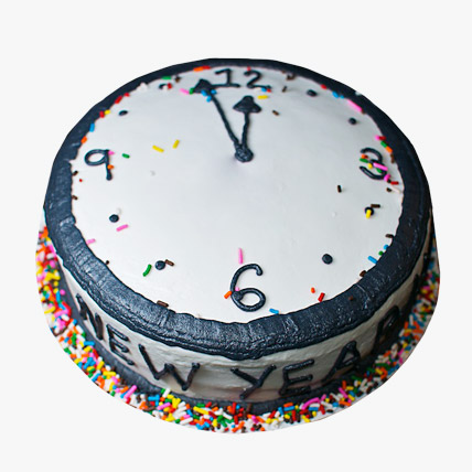 Dazzling New Year Cake 3kg