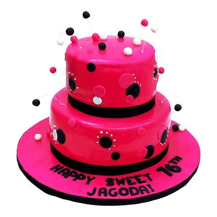 Dazzling Red Cake 5kg