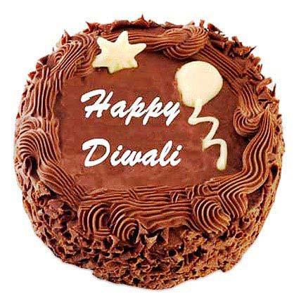 Deepavali Chocolate Cake 2kg Eggless