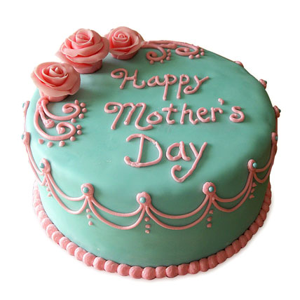 Delectable Mothers Day Cake 4kg Eggless