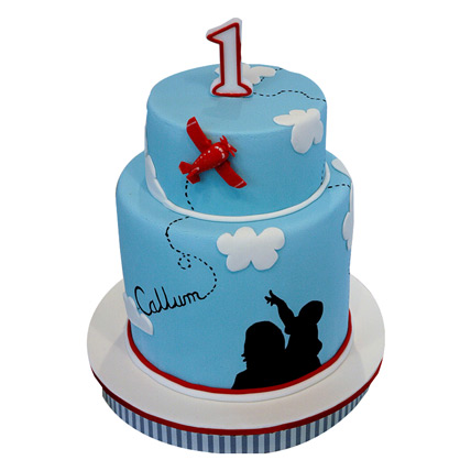 Delectable Plane Cake 5kg Eggless