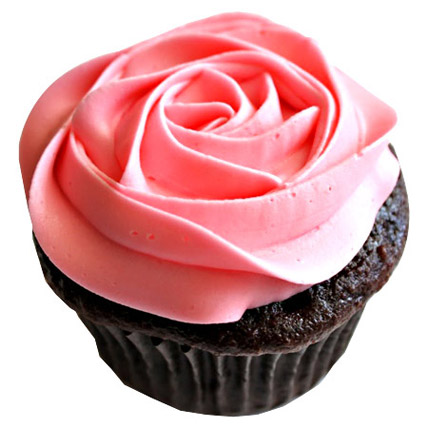 Delicious Rose Cupcakes 12 Eggless