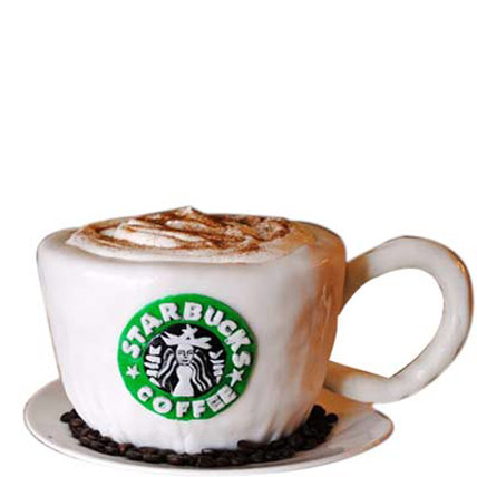 Delicious Starbucks Cake 4kg Eggless