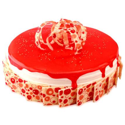 Delicious Strawberry Classic Cake Half kg