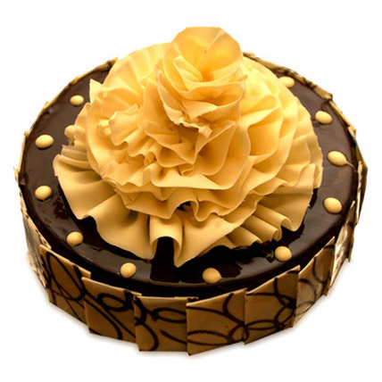 Delightful Chocolate Fantasy Cake 1kg Eggless