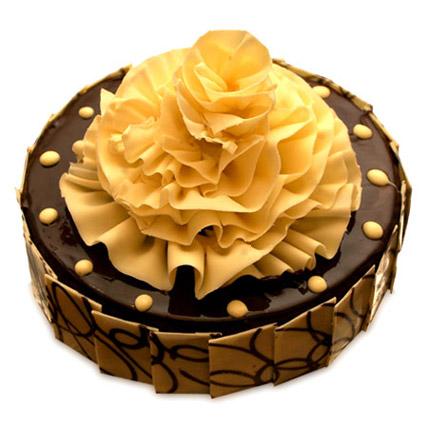 Delightful Chocolate Fantasy Cake Half kg Eggless
