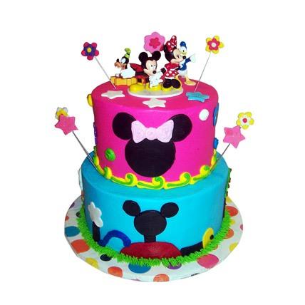 Disney Birthday Cake 5kg Eggless