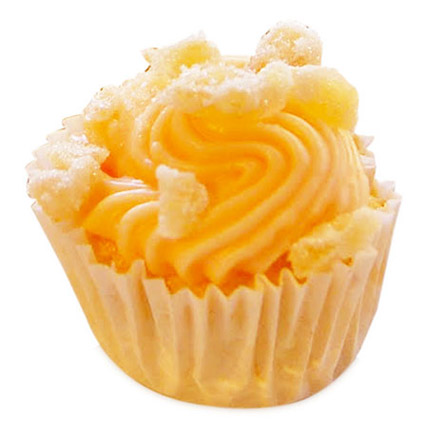 Elegant Orange Blossom Cupcakes 12 Eggless