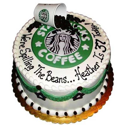 Excess Starbucks Cake 2kg Eggless