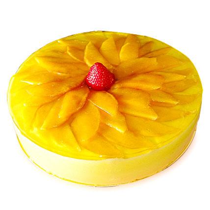 Exotic Mango Cake 2kg Eggless