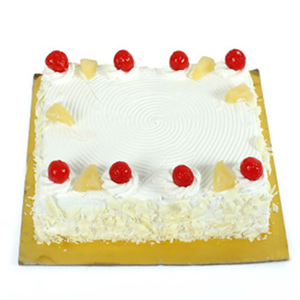 Exotic Pineapple Cake 1kg Eggless