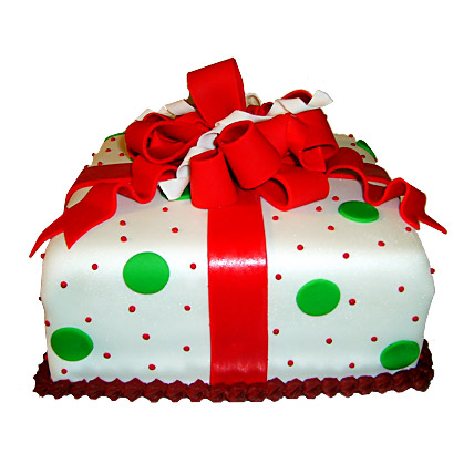 Exquisite Christmas Gift Cake 2kg