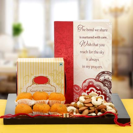 Extra Bonanza of Delight Rakhi Hamper