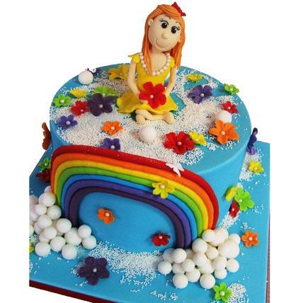 Fairy Tale Cake 2kg Eggless