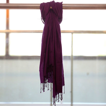Fancy Purple Stole