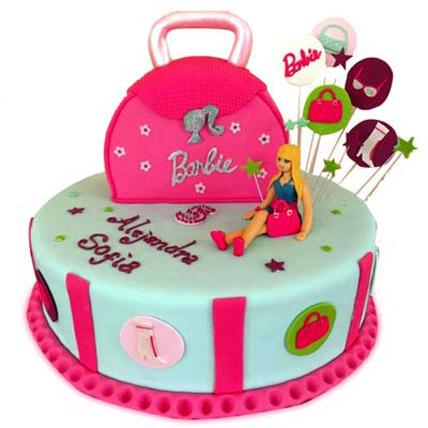 Fashionable Barbie Handbag 3kg