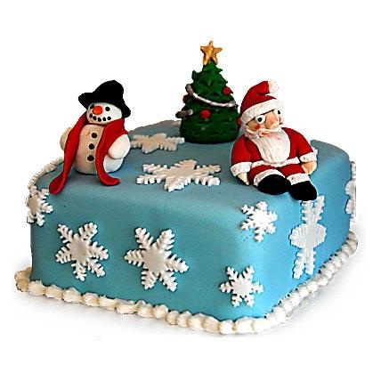 Festive Christmas Cake 2kg