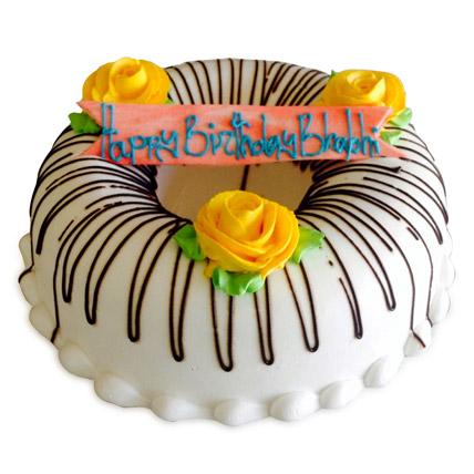 Floral Donut Cake 1kg