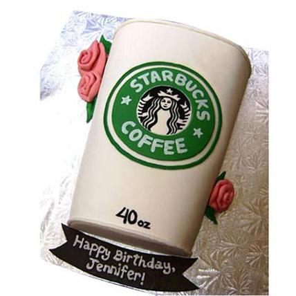 Flossy Starbucks Cake 3kg