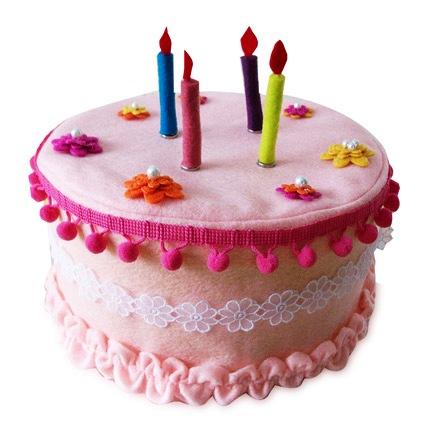 Flower Felt Cake 4kg