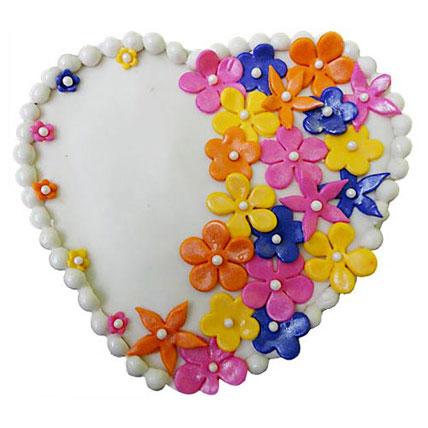 Flower Heart Cake 3kg