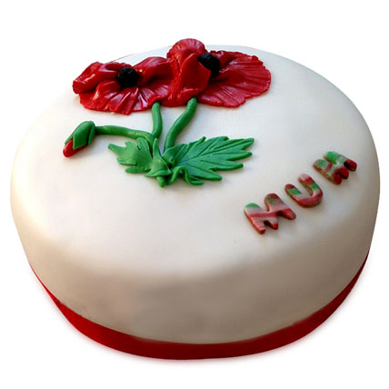Flowering Love Mom Cake 3kg Eggless