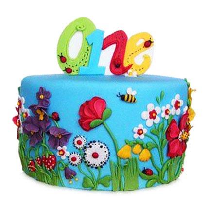Flowers N Petals Cake 3kg