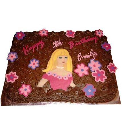 Flowery Barbie Cake 2kg