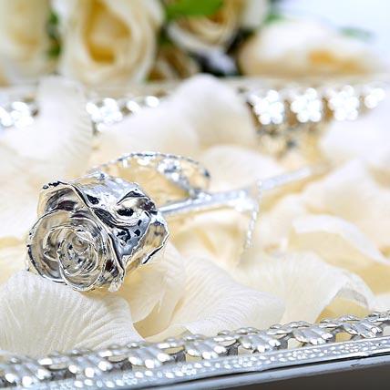 Forever Silver Roses