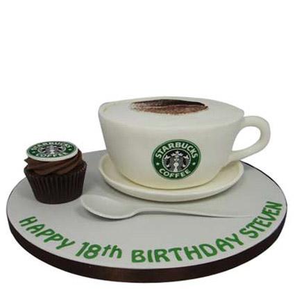 Forever Starbucks Cake 4kg