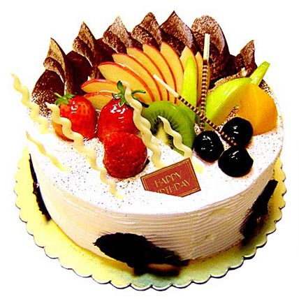 Fresh Fruit Cake Half kg