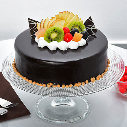 Cake Designs Half Kg : Fruit Chocolate Cake Half kg Gift Fruit Chocolate Cake ...