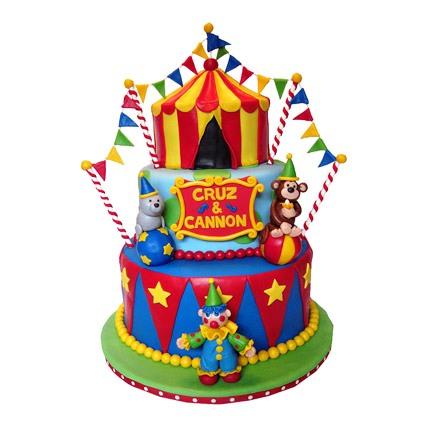 Fun Circus Cake 5kg