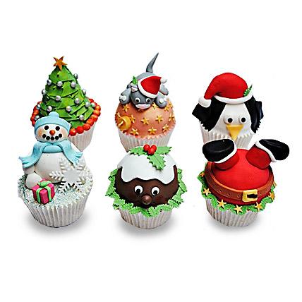 Funny Christmas Cupcakess 6