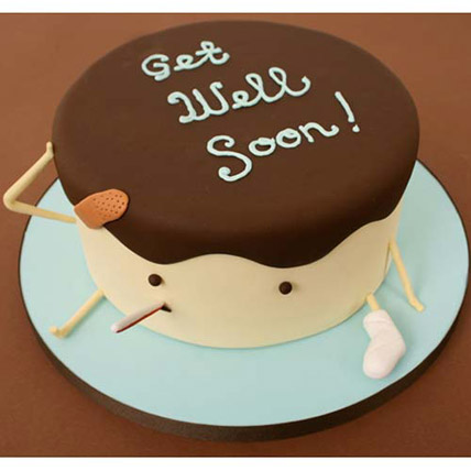 Get Well Soon Cake 1kg Eggless