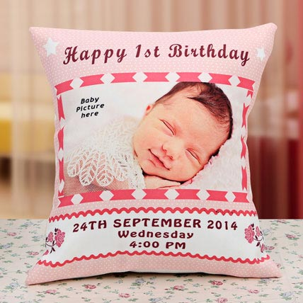 Gift for the Angel Personalized Cushion