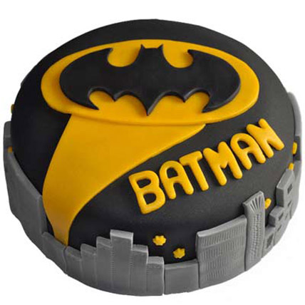Glitzyy Batman City Cake 3kg