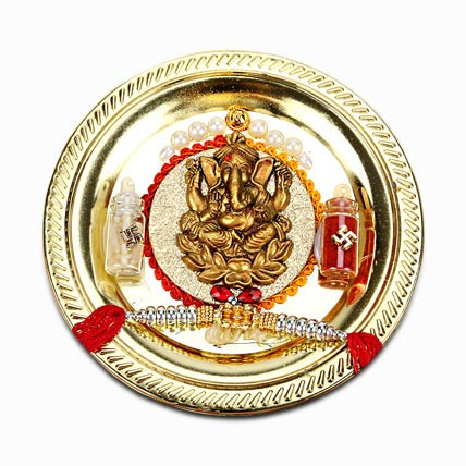 Golden Ganesha Thaali