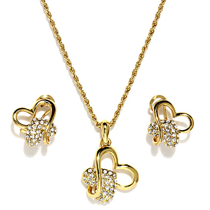 Golden Peacock Gold plating Jewelry Set