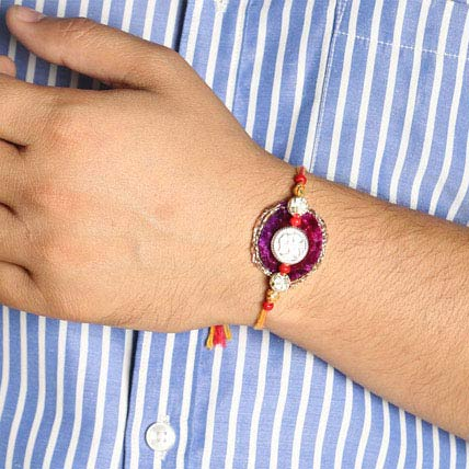 Golden Touch Rakhi