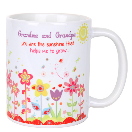 Grandma and Grandpa Mug